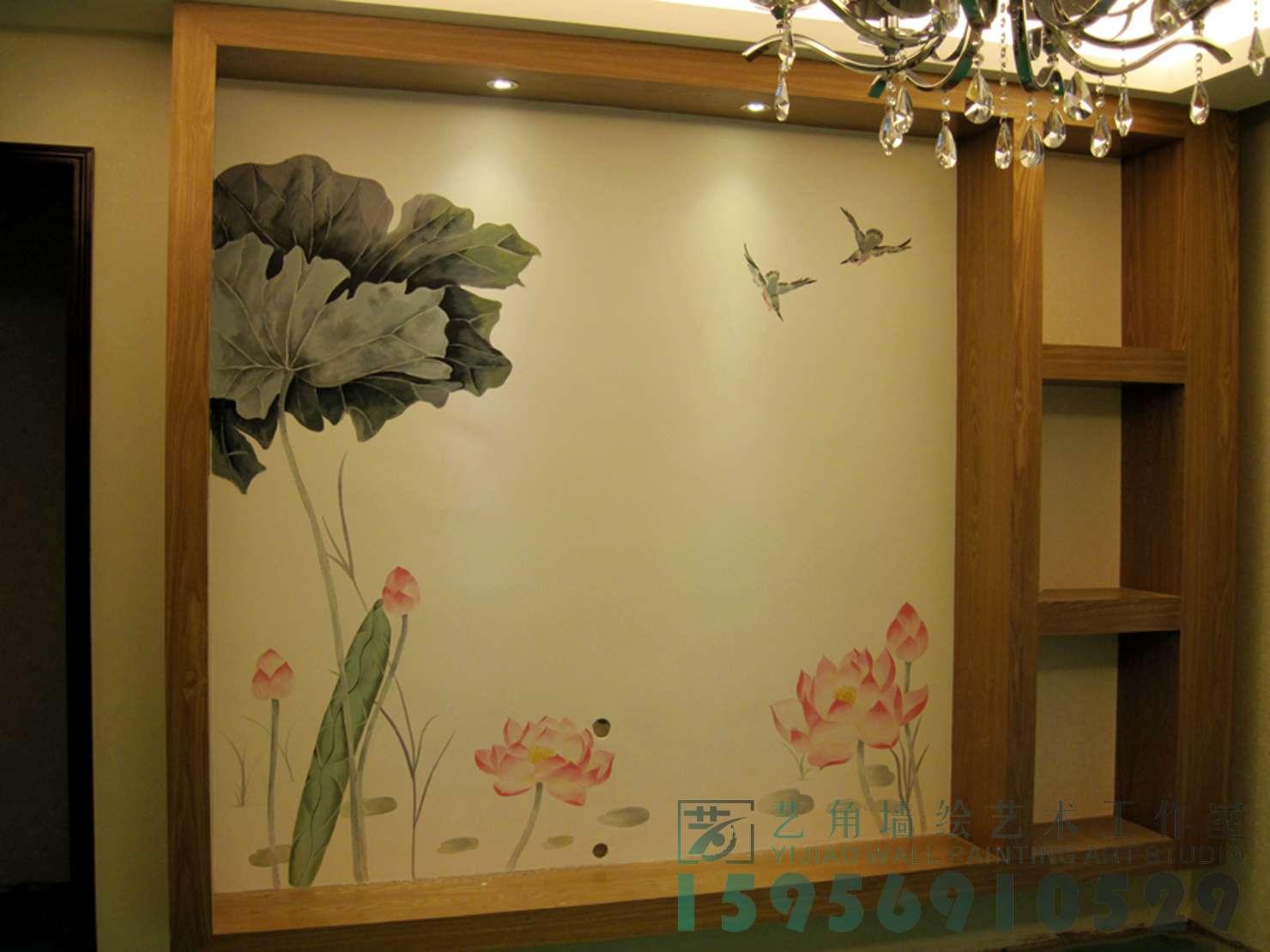 分享到: 上一个: 电视背景墙工笔荷花彩绘 下一个: 电视背景墙彩绘图片